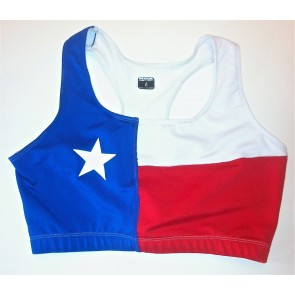 Performance Bra Texas Flag