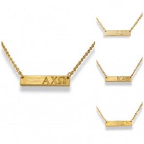 Sorority Bar Necklace PREORDER