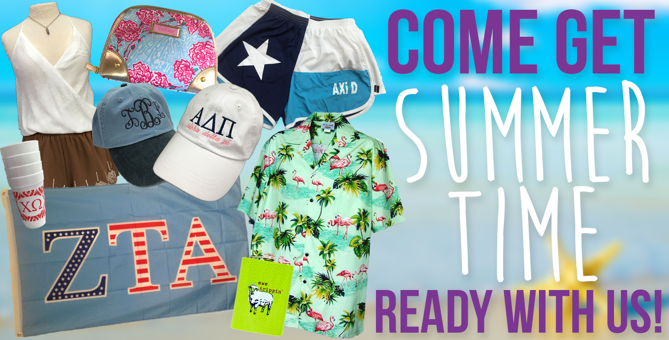 Get summertime ready with us!